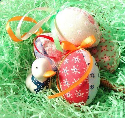 Подарки на Пасху ручной работы. Ярмарка Мастеров - ручная работа Пасхальные яйца, набор из 3 шт.. Handmade.
