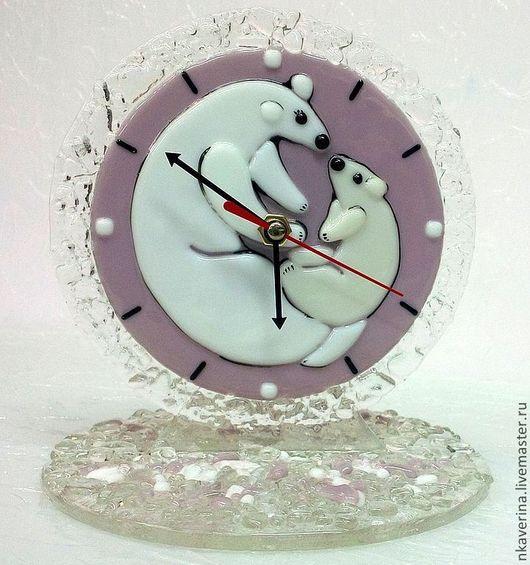 """Часы для дома ручной работы. Ярмарка Мастеров - ручная работа. Купить Настольные часы """"УМКА"""". Handmade. Умка, часы интерьерные"""