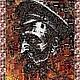 """Люди, ручной работы. Ярмарка Мастеров - ручная работа. Купить Фотомозаика """"Железный рыцарь революции"""". Handmade. Разноцветный, революция, Ленин"""