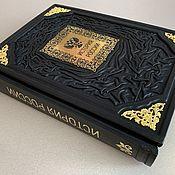 Сувениры и подарки handmade. Livemaster - original item The History Of Russia. Chronicle of Russia (leather book). Handmade.
