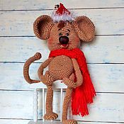 Куклы и игрушки ручной работы. Ярмарка Мастеров - ручная работа Обезьянка Мики. Handmade.
