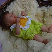 Куклы и игрушки handmade. Livemaster - original item Little flower doll reborn. Handmade.