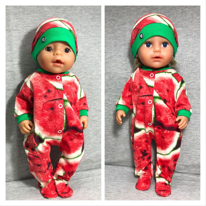 Комплект «Арбузный взрыв» для куклы Беби Бон, Одежда для кукол, Краснодар,  Фото №1