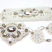 Свадебный салон handmade. Livemaster - original item A set of wedding jewelry,