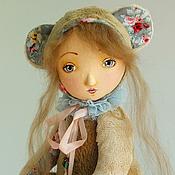 Куклы и игрушки ручной работы. Ярмарка Мастеров - ручная работа Плюшевая Тедди-долл Нелли. Handmade.