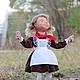Коллекционные куклы ручной работы. Перемена. Елена (handmade mrs.Mouse). Ярмарка Мастеров. Переменка, коллекционная кукла, акриловые краски