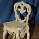 Кукольный стульчик.Заготовка для декупажа и росписи.992