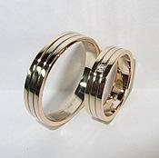 Свадебный салон ручной работы. Ярмарка Мастеров - ручная работа Обручальные кольца 007. Handmade.