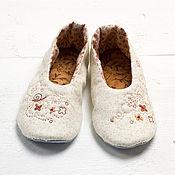 Обувь ручной работы. Ярмарка Мастеров - ручная работа Марусины тапуси. Handmade.
