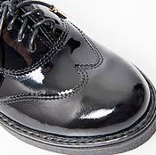 Обувь ручной работы. Ярмарка Мастеров - ручная работа Полуботинки Janis Lac. Handmade.