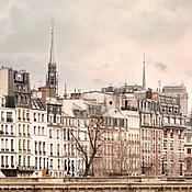 Картины и панно handmade. Livemaster - original item Paris photography, Beige wall art print, neutral Paris wall art poster. Handmade.