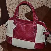 Классическая сумка ручной работы. Ярмарка Мастеров - ручная работа Сумка кожаная женская Элегантная сумка Модель 313. Handmade.