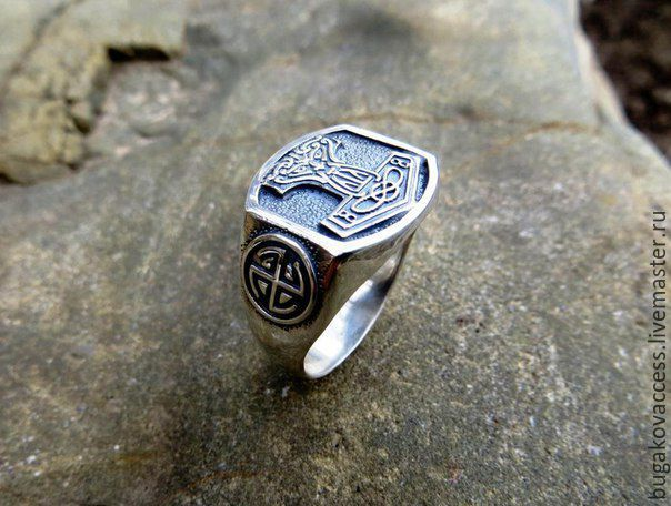 The Ring Of Hammer Thor Silver 925
