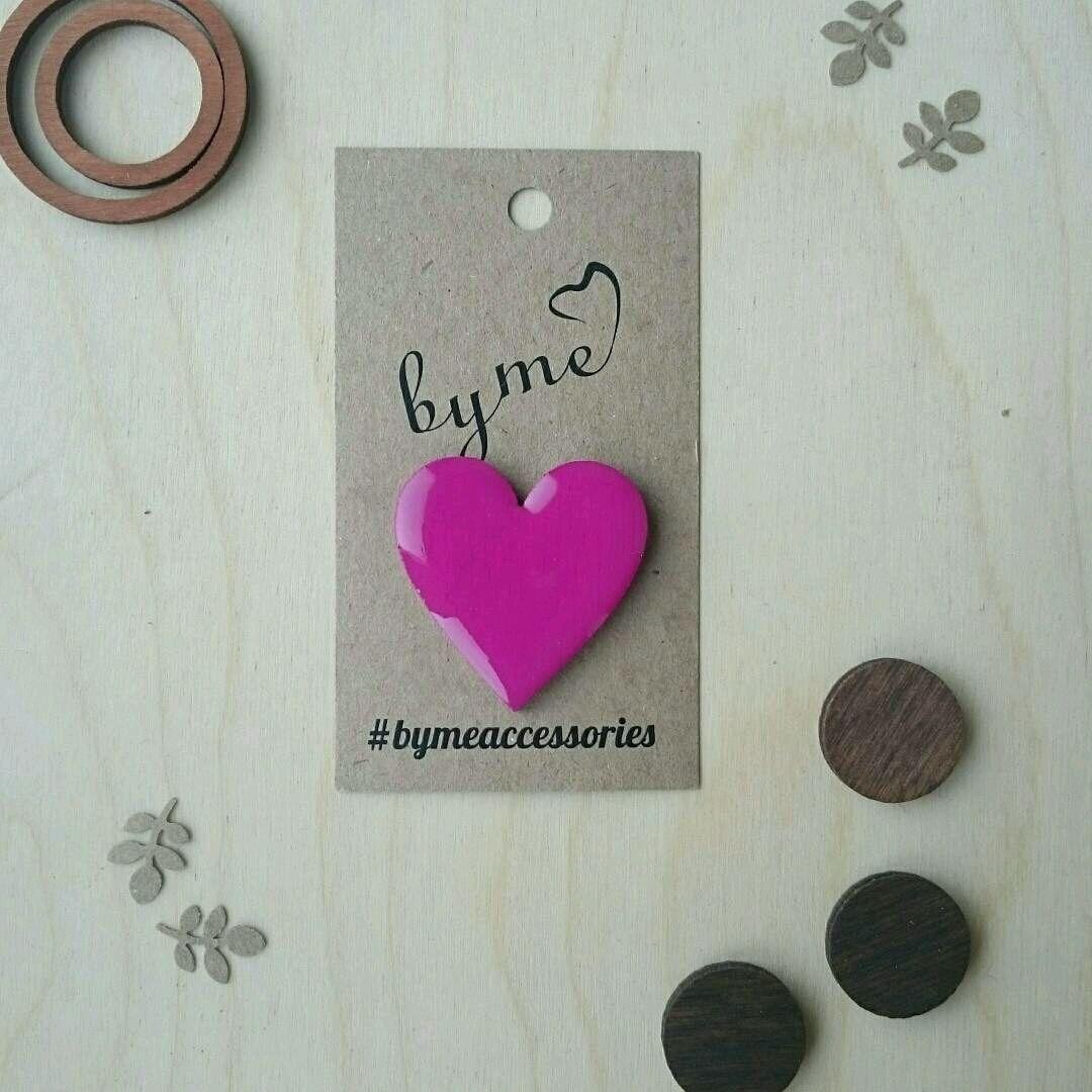 Icon wooden 'Heart', Badge, Permian,  Фото №1