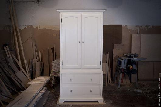 Мебель ручной работы. Ярмарка Мастеров - ручная работа. Купить Шкаф. Handmade. Белый, дерево