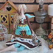 """Куклы и игрушки ручной работы. Ярмарка Мастеров - ручная работа Кофейная фея """"Бирюза в шоколаде"""". Handmade."""