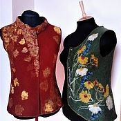 Одежда handmade. Livemaster - original item Set of two felted vests
