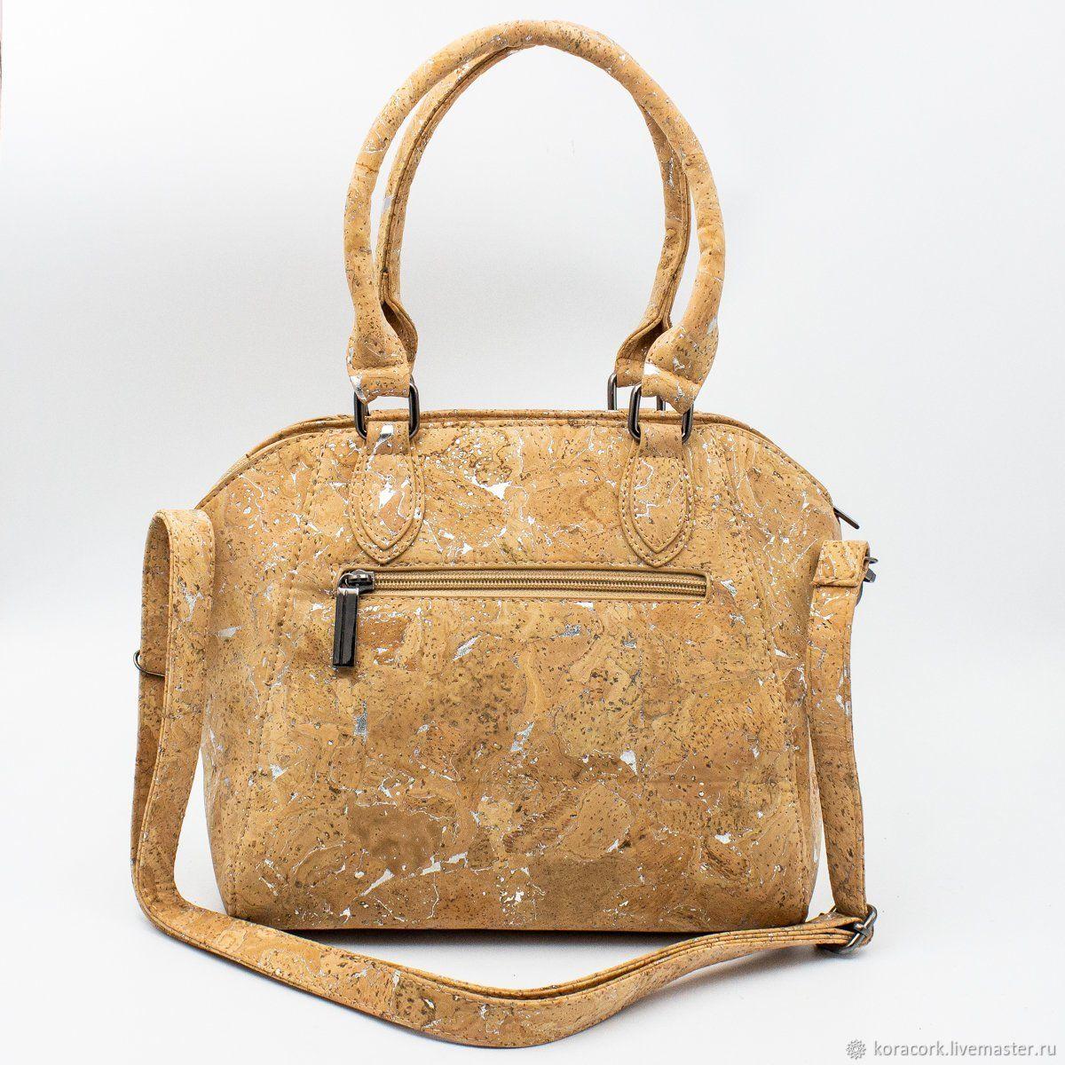 Bags & Accessories handmade. Livemaster - handmade. Buy Eco bag natural women's cork handmade.
