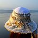 Шляпы ручной работы. Кружевная шляпка «Чудесные мгновенья». Only you.... Ярмарка Мастеров. Пляжная мода, романтика, морской