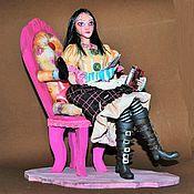 Куклы и игрушки ручной работы. Ярмарка Мастеров - ручная работа Alice: Madness Returns - Герцогиня. Handmade.