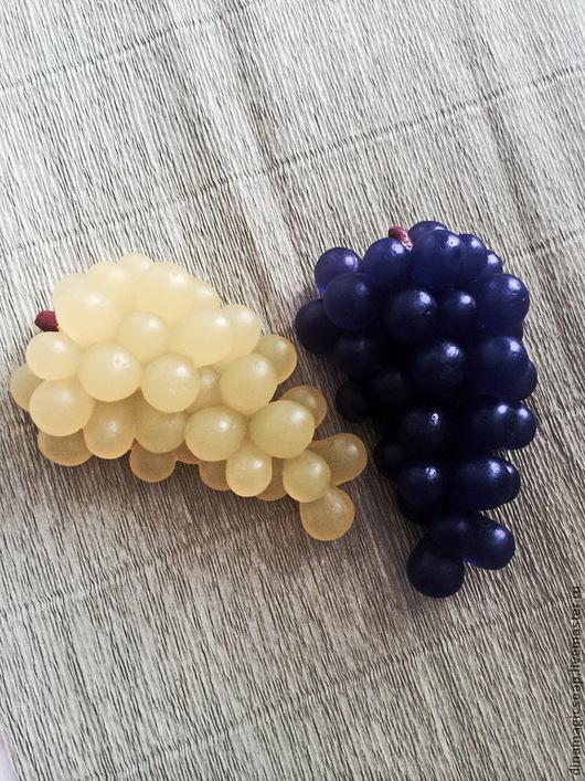 """Мыло ручной работы. Ярмарка Мастеров - ручная работа. Купить Мыло """"Виноградная гроздь"""". Handmade. Салатовый, мыло в новокузнецке, виноград"""