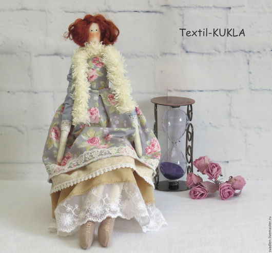 Куклы Тильды ручной работы. Ярмарка Мастеров - ручная работа. Купить Кукла для интерьера - в стиле тильда. Handmade. Куклы и игрушки