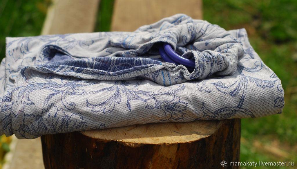 Слинг с кольцами синий, Слинги, Орел,  Фото №1
