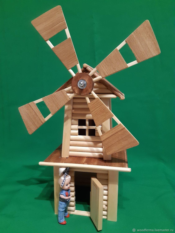 Ветряная мельница для фермы, Игровые наборы, Санкт-Петербург,  Фото №1