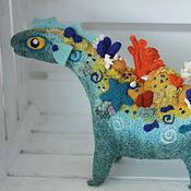 Куклы и игрушки ручной работы. Ярмарка Мастеров - ручная работа Дракон кораллового рифа. Handmade.