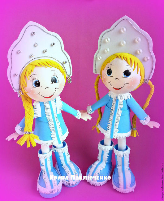 Новый год 2017 ручной работы. Ярмарка Мастеров - ручная работа. Купить Кукла Снегурочка. Handmade. Ручная работа, снегурочка