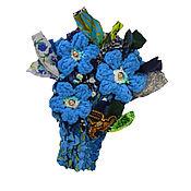 Украшения manualidades. Livemaster - hecho a mano Azul ramo. Handmade.