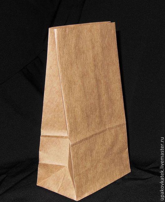 Упаковка ручной работы. Ярмарка Мастеров - ручная работа. Купить крафт-пакет 19х10х7см с плоским дном. Handmade. Коричневый, упаковка