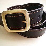 Аксессуары handmade. Livemaster - original item The genuine leather strap handmade. Handmade.