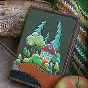 Обложки ручной работы. Ярмарка Мастеров - ручная работа Обложка для автодокументов «Уютный лес». Handmade.