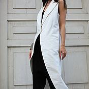 Одежда ручной работы. Ярмарка Мастеров - ручная работа Белый фрак. Handmade.