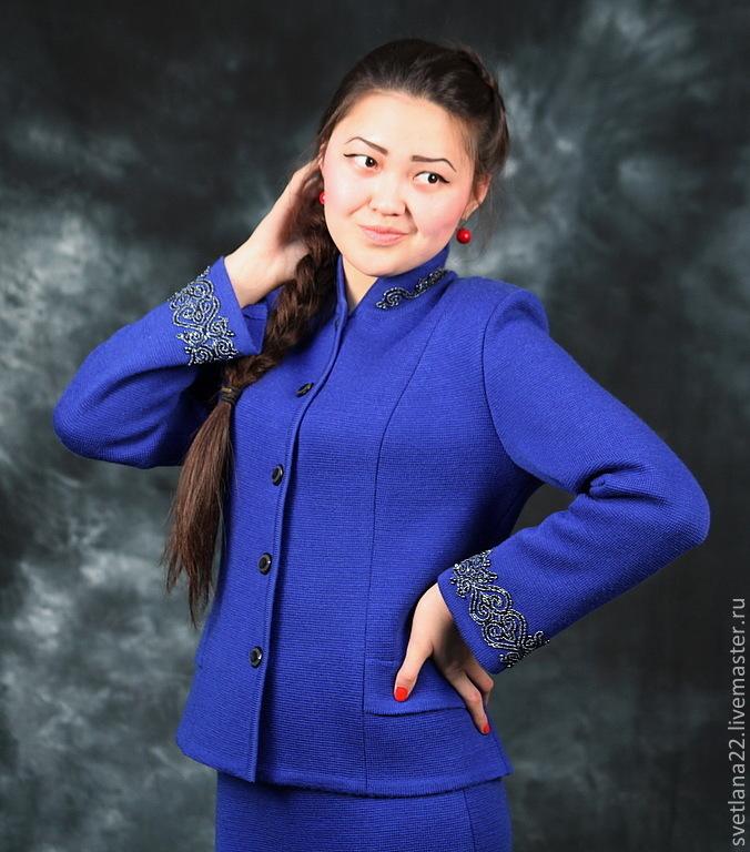 "Knitted suit ""Elegant ornament"", Suits, Pavlodar,  Фото №1"