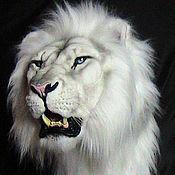 Для дома и интерьера ручной работы. Ярмарка Мастеров - ручная работа Белый лев. Handmade.