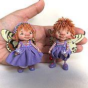 Куклы и игрушки ручной работы. Ярмарка Мастеров - ручная работа Фиалочки. Handmade.