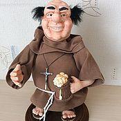 Куклы и игрушки ручной работы. Ярмарка Мастеров - ручная работа Монах. Handmade.