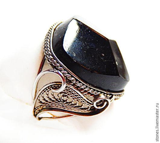 """Кольца ручной работы. Ярмарка Мастеров - ручная работа. Купить Кольцо и серьги """"ВОЛШЕБНИЦА"""", черный турмалин,шерл.. Handmade. Черный"""