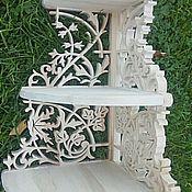 Для дома и интерьера ручной работы. Ярмарка Мастеров - ручная работа Полка Колокольчик. Handmade.