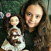 Куклы и игрушки ручной работы. Ярмарка Мастеров - ручная работа Портретная кукла. Handmade.