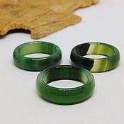 Украшения handmade. Livemaster - original item 17 green agate ring (Mal 17). Handmade.
