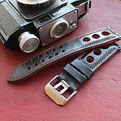 Украшения handmade. Livemaster - original item Handmade Rally Strap for Apple Watch 42/44 or 26mm Watch. Handmade.