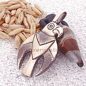 Фен-шуй и эзотерика handmade. Livemaster - original item The Scythians. Guardian Scythian Falcon. Handmade.