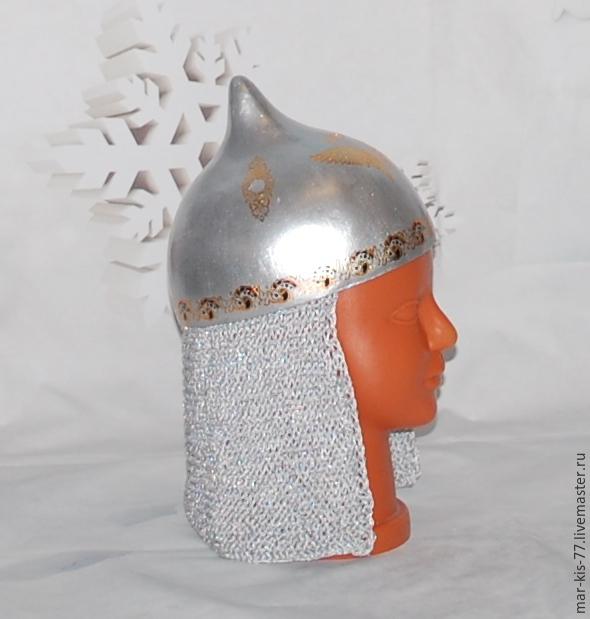 75Своими руками шлем богатыря