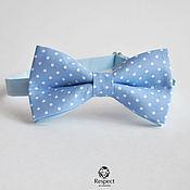 Аксессуары handmade. Livemaster - original item Tie the Blue lagoon / bow tie, blue wedding. Handmade.