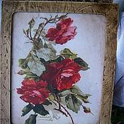 """Для дома и интерьера ручной работы. Ярмарка Мастеров - ручная работа Ключница """"Старинная роза"""". Handmade."""