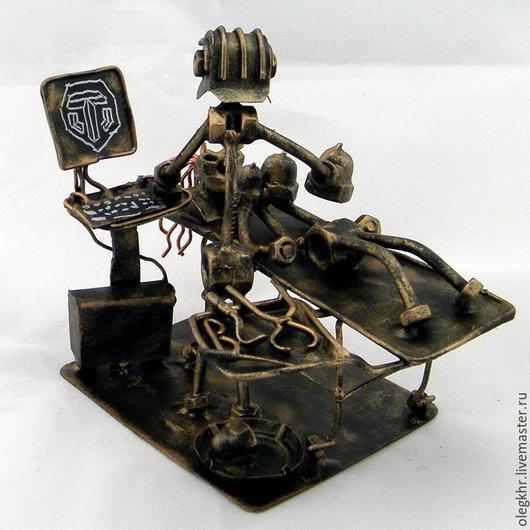 Миниатюрные модели ручной работы. Ярмарка Мастеров - ручная работа. Купить Пластический хирург- любитель W.O.T.. Handmade.