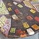 Декоративная посуда ручной работы. Ярмарка Мастеров - ручная работа. Купить Блюдо Краски Ночного Мегаполиса. Handmade. Блюдо, Керамика